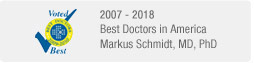 Markus Schmidt, MD, PhD - Best Doctors in America - 2007-2017